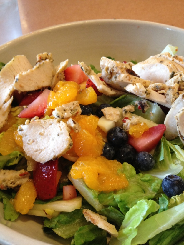 Panera Strawberry Citrus Salad