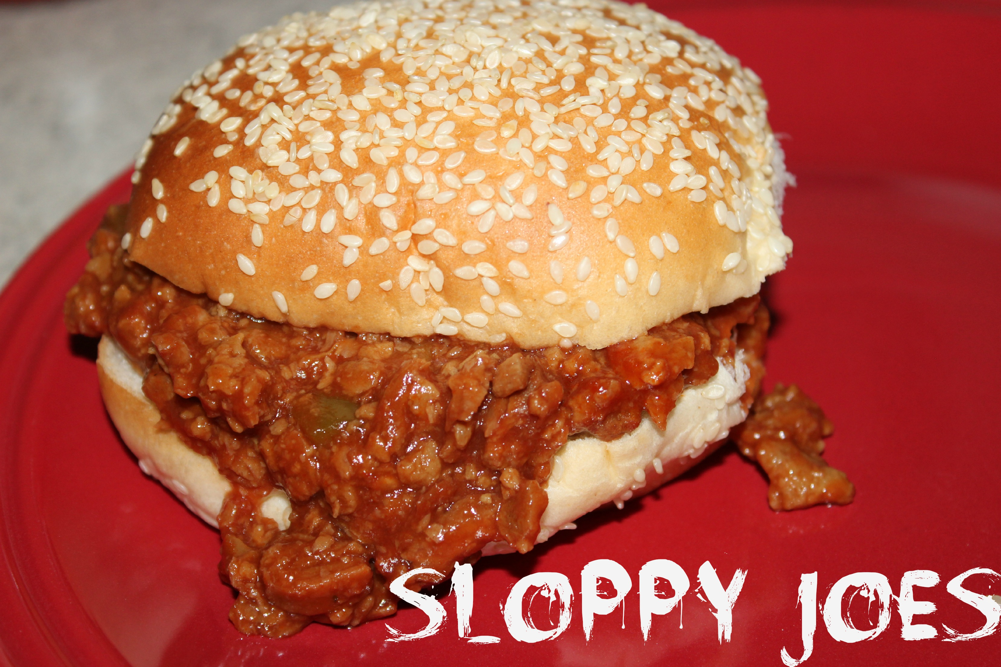 all this thinking about sloppy joes led me to sloppy joes dinner