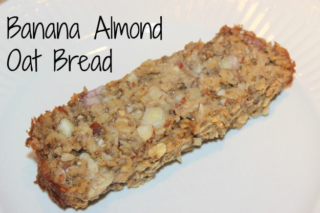 Banana Almond Oat Bread