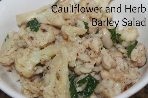 Cauliflower and Barley Salad