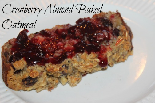 Cranberry Almond Oatmeal