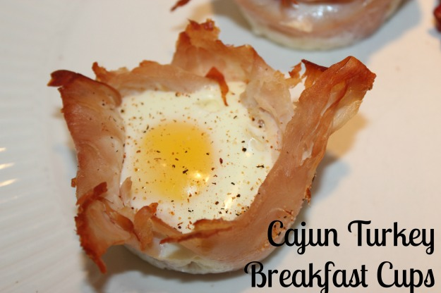 Cajun Turkey Breakfast Cups