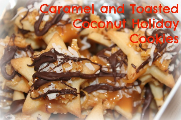 Caramel & Toasted Coconut Holiday Cookies