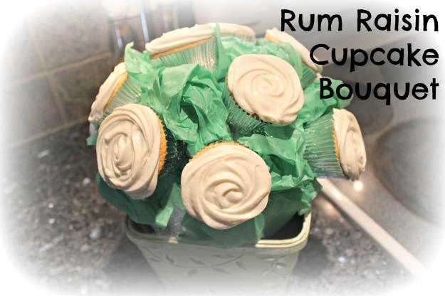 Rum Raisin Cupcakes